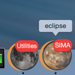 Heavenly bodies icons for Eclipse